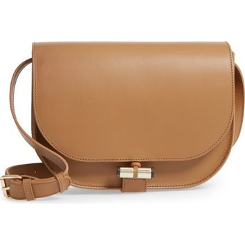 A.P.C. June Calfskin Leather Shoulder Bag | Nordstrom