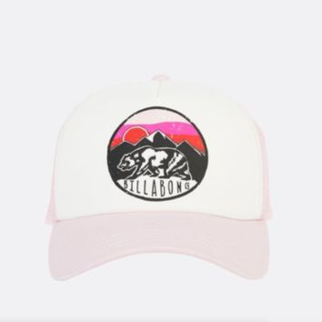 Billabong GIRLS Pitstop California Love Trucker Hat