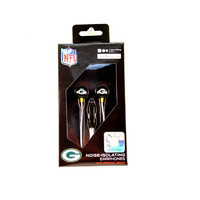 Green Bay Packers Headphones - The MICRO Line - Earbuds With Microphone