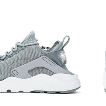 Crystal Nike Air Huarache Ultra Gray