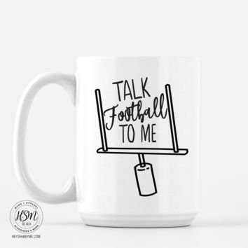 Talk Football To Me - Mug