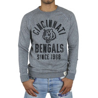 Cincinnati Bengals Junk Food Formation Crew Sweatshirt – Gray