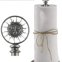 Paper Towel Holder - Sun Moon from Sunland Home Decor