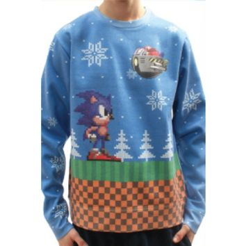 Sonic Xmas Jumper | Official Sonic The Hedgehog Toys