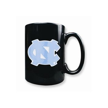 University of North Carolina 15oz Black ceramic Mug