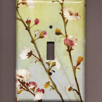 Oversized 35 x 525 Branches of Blossom Switchplate by TurnMeOnArt
