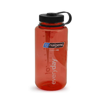 Nalgene Tritan 32oz W/M, Red w/ Black Cap