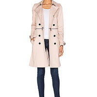 Melissa Trench in Nude Pink
