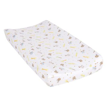 Jungle Fun Animals Changing Pad Cover