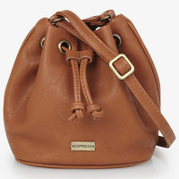 CROSS BODY MINI BUCKET BAG from EXPRESS