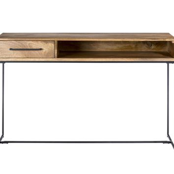 Colvin Console Table Mango Wood Iron