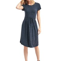 Modal spacedye tie dress | Gap