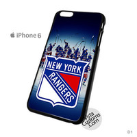 New York Rangers NHL Phone Case For Apple,  iphone 4, 4S, 5, 5S, 5C, 6, 6 +, iPod, 4 / 5, iPad 3 / 4 / 5, Samsung, Galaxy, S3, S4, S5, S6, Note, HTC, HTC One, HTC One X, BlackBerry, Z10