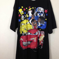Cars / looney toons ghetto bling shirt size 2XL