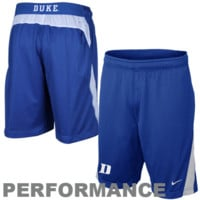 Nike Duke Blue Devils Duke Blue Replica Lacrosse Performance Shorts