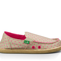 Hot Dotty Girls by Sanuk {Pink}