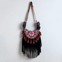 Hippie Fringe Crossbody - Free Shipping - New Customer Sale - Gift for Her