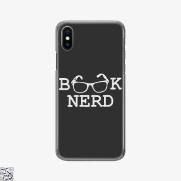 Book Nerd, Dark Humor Phone Case