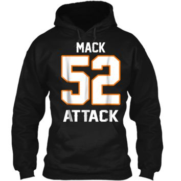 Mack Attack Bear Beast Chicago Welcome New Player 52 Pullover Ho 3396ef1a2