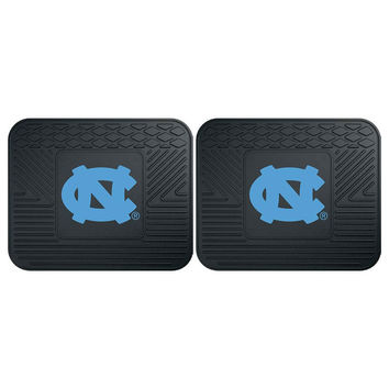 North Carolina Tar Heels NCAA Utility Mat (14x17)(2 Pack)