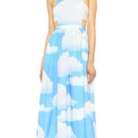 Cloud Racer Back Dress