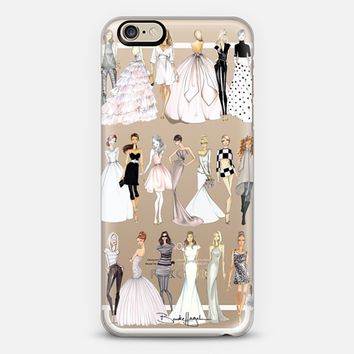 Croqui Collection Clear iPhone 6 case by Brooklit | Casetify