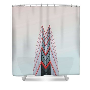 Urban Architecture - London, United Kingdom 4 - Shower Curtain