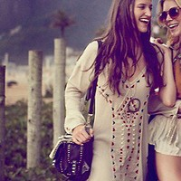 Free People  Carioca Landscapes Tunic at Free People Clothing Boutique