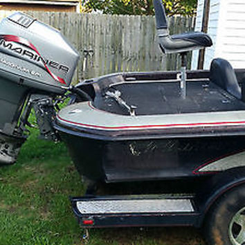 1998 Fisher FX18 Tournament 19' Bass Boat wit Mercury/Mariner 150 HP Magnum EFI