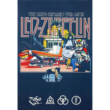 Led Zeppelin - Domestic Poster