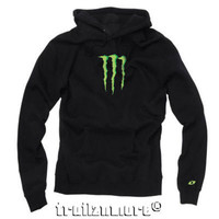Women's One Industries Monster Energy Stormy Hoodie Black S M L NWT