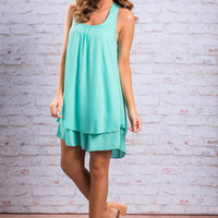 Frill Of The Chase Dress, Mint