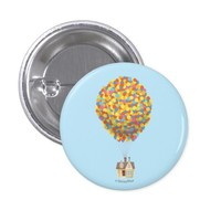 Balloon House from the Disney Pixar UP Movie 2 Inch Round Button