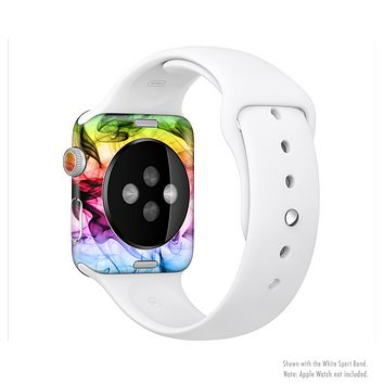The Neon Glowing Fumes Full-Body Skin Set for the Apple Watch