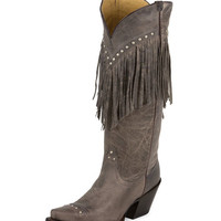 Tony Lama Women's Taupe Tucson Foot Boot