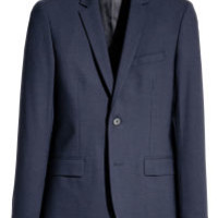 Wool Blazer Skinny fit - from H&M