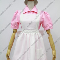 Pokemon Nurse Joy Cosplay Costume uniform