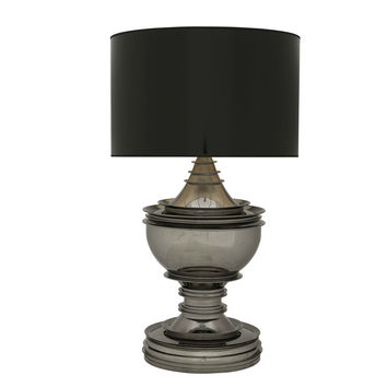 Eichholtz Table Lamp Silom - Black/Nickel