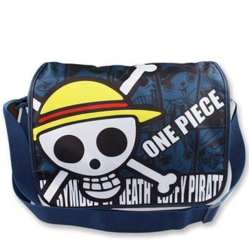 One Piece Luffy Skull Shoulder Bag