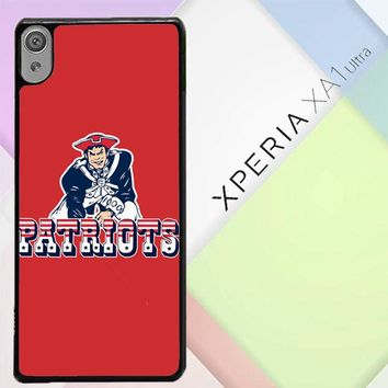 New England Patriots Z4150 Sony Xperia XA1 Ultra Case