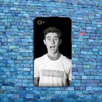 Hot Tattoos Blue Eyes Nash Grier Cute iPod Case Funny iPhone 4 4s 5 5s 5c 6 6s +