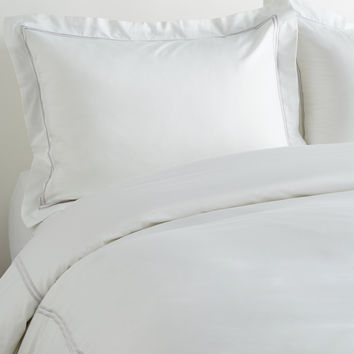 2-Stripe Embroidered Duvet Set