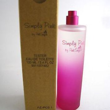 Simply Pink for Women by Pink Sugar EDT Spray 3.4 oz (Tester)