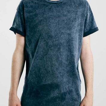 Indigo Hard Washed T-Shirt