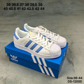 Adidas SUPERSTAR Men Women Fashion Casual Skate Shoes White 2 Colors  Choose