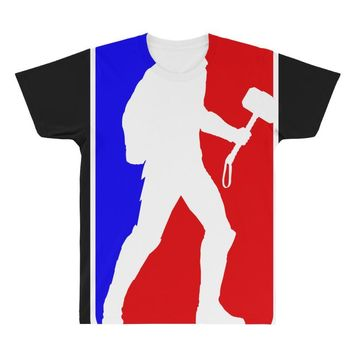 Thor NBA Style All Over Men's T-shirt