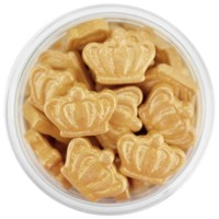 Pearly Gold Crown Candy Sprinkles