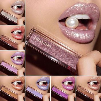 Long Lasting Matte Liquid Lipstick Waterproof Metallic