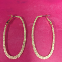 Taylor Gold Hoops