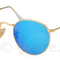 Model: Ray Ban RB 3447 Round Metal Polarized 112 4L - giarre.com Sunglasses